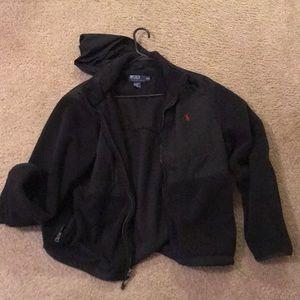Black Fleece Jacket (XL)